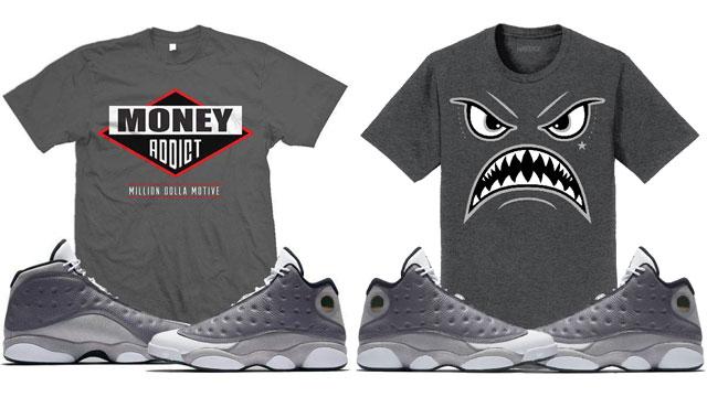 3b1d9512955a2b Air Jordan 13 Atmosphere Grey Sneaker Tees