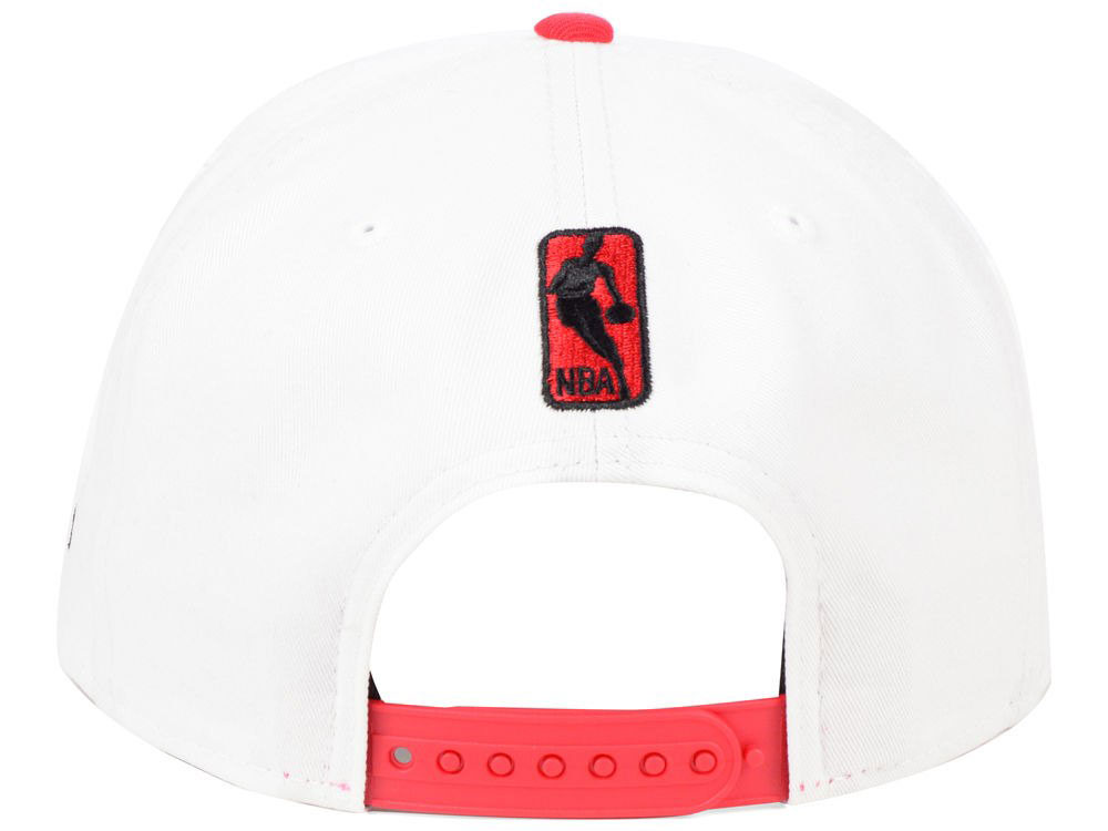 air-jordan-4-hot-lava-bulls-snapback-hat-3