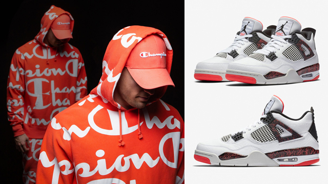 air-jordan-4-hot-lava-champion-clothing-match