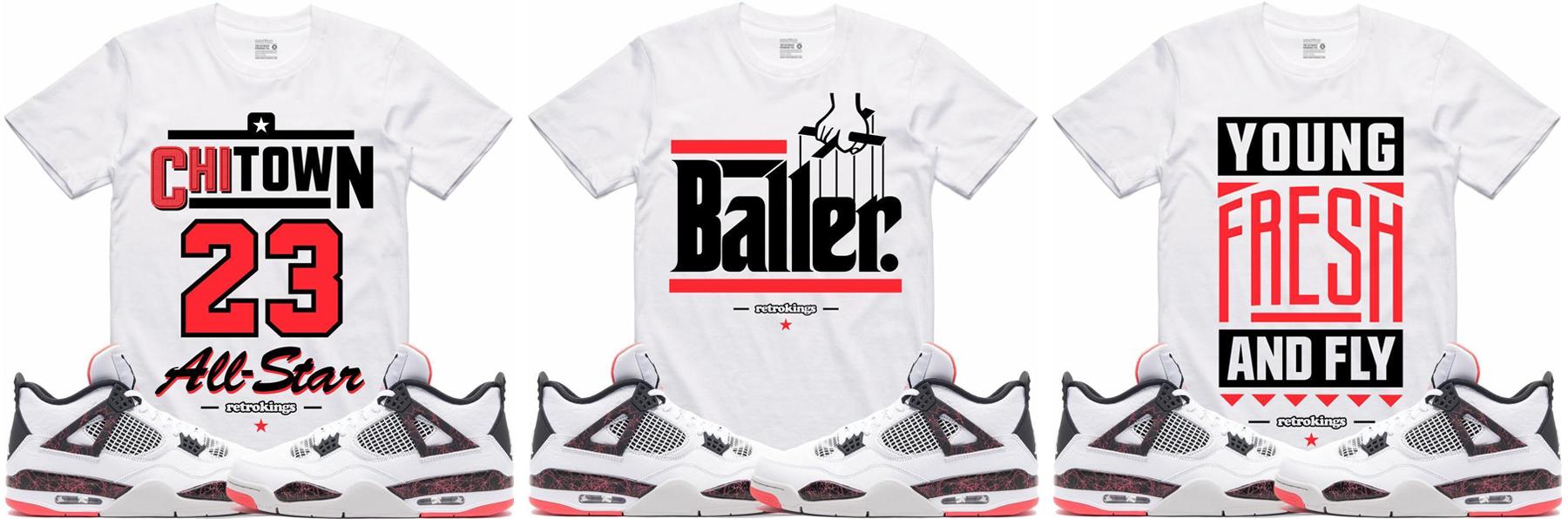 air-jordan-4-hot-lava-sneaker-tees-shirts