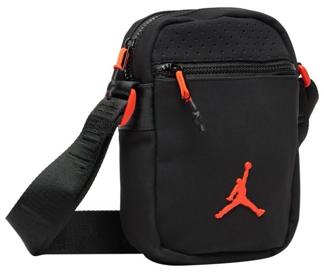 a8dfcb30f1a Air Jordan 6 Black Infrared Festival Bag | SneakerFits.com