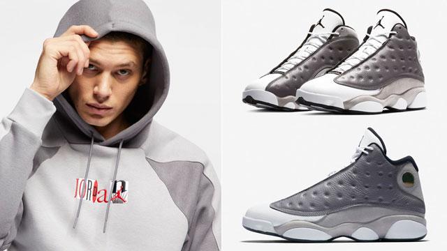 jordan-13-atmosphere-grey-hoodie