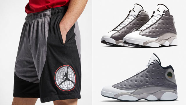 jordan-13-atmosphere-grey-shorts
