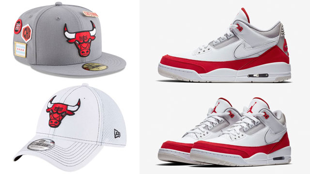 "b6f2698edf3951 Chicago Bulls New Era Hats to Match the Air Jordan 3 Tinker ""Air Max 1"""