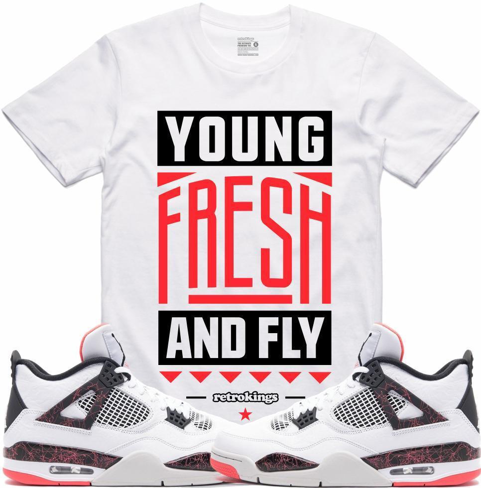 jordan-4-hot-lava-sneaker-tee-shirt-9