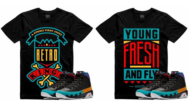 189ea6ada861 Jordan 9 Dream It Do It Sneaker Tee Shirts