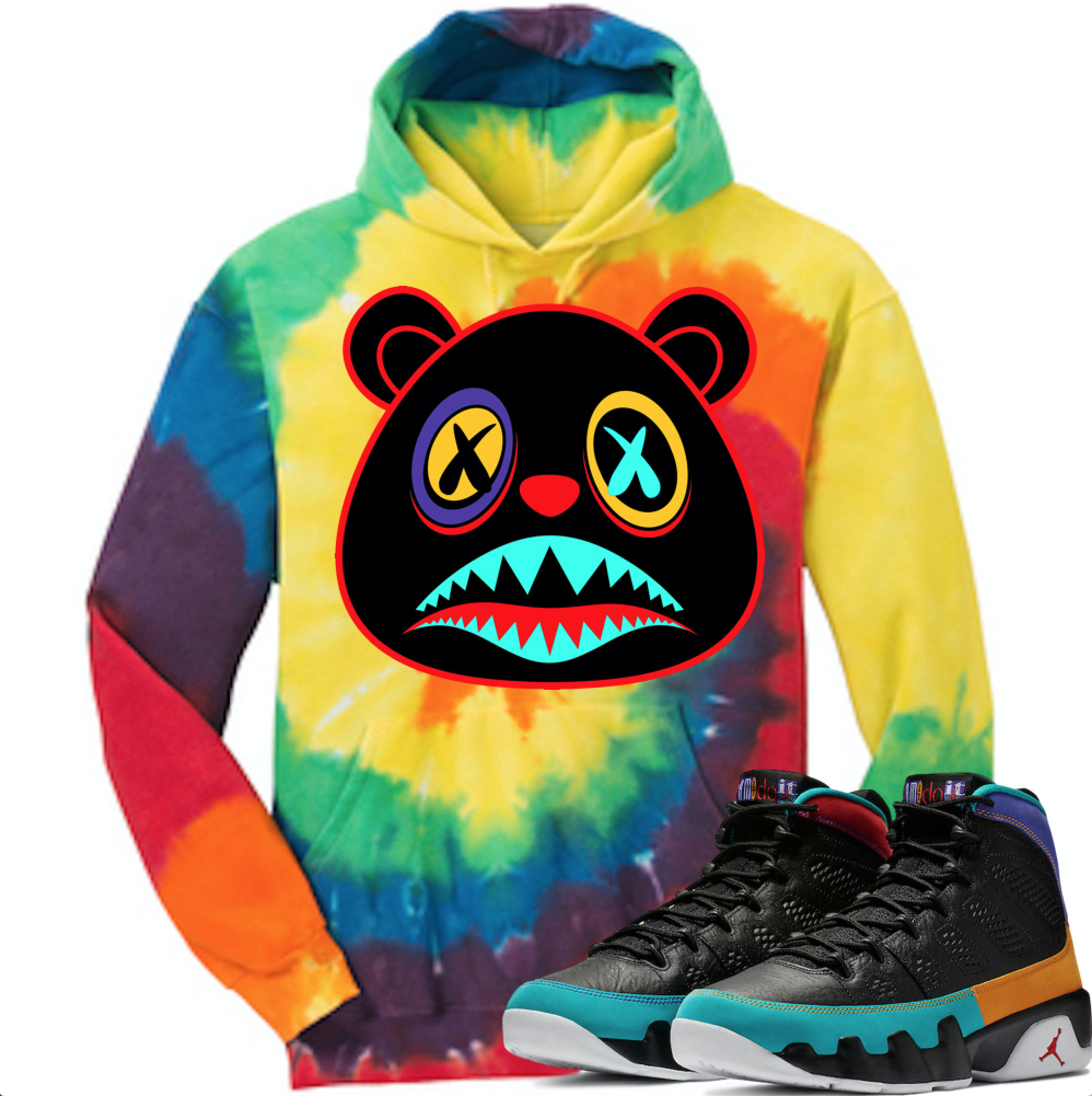 detailed look cd01d c0e2c jordan-9-dream-it-nostalgia-sneaker-hoodie-baws-