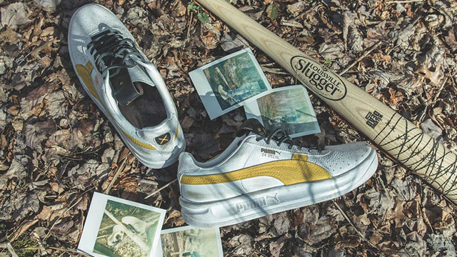 PUMA x Walking Dead Shoes and Lucille