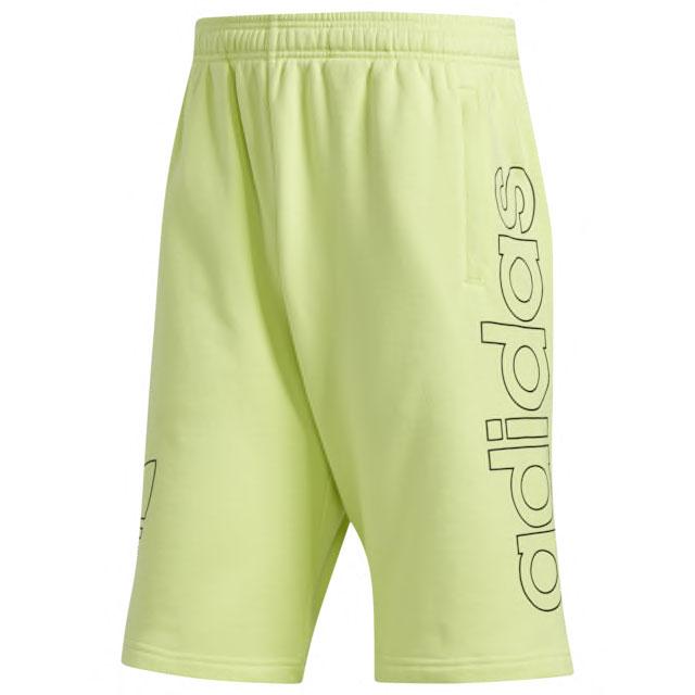 adidas-semi-frozen-yellow-shorts