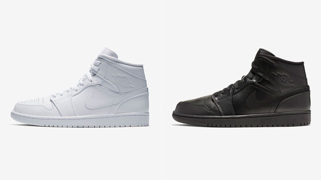 air-jordan-1-mid-triple-white-and-black