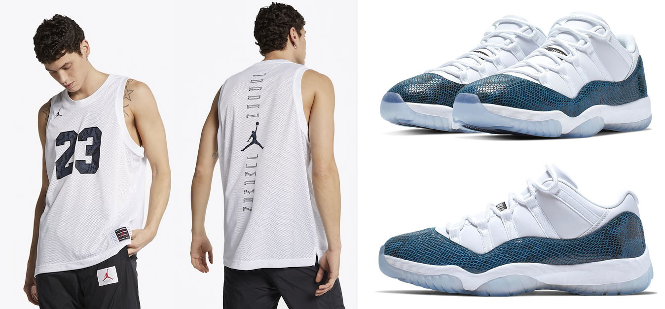 air-jordan-11-low-navy-blue-snakeskin-jersey