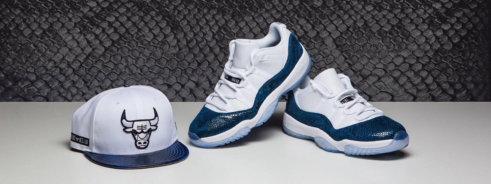air-jordan-11-low-snakeskin-navy-blue-hat