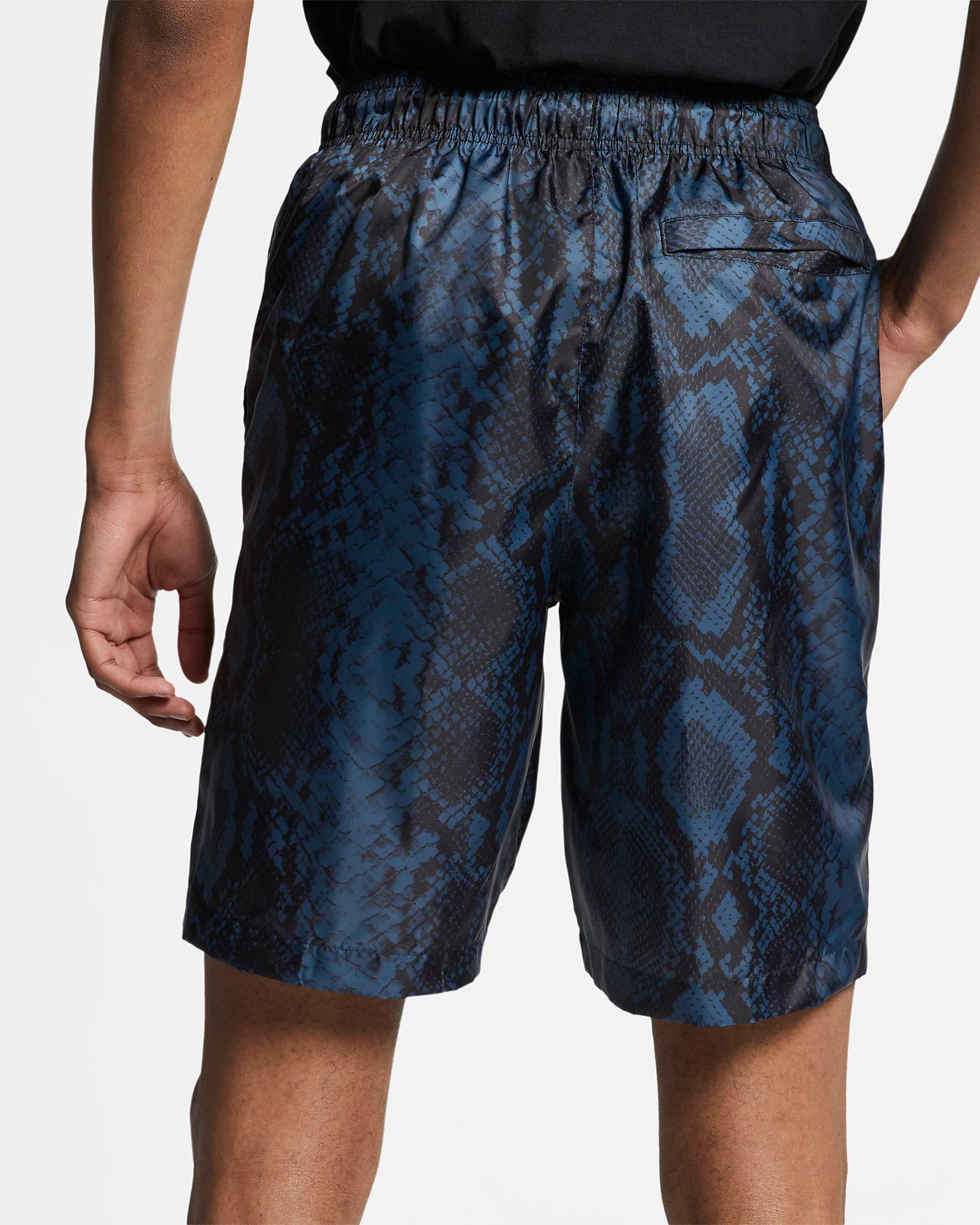 air-jordan-11-low-snakeskin-navy-blue-shorts-2