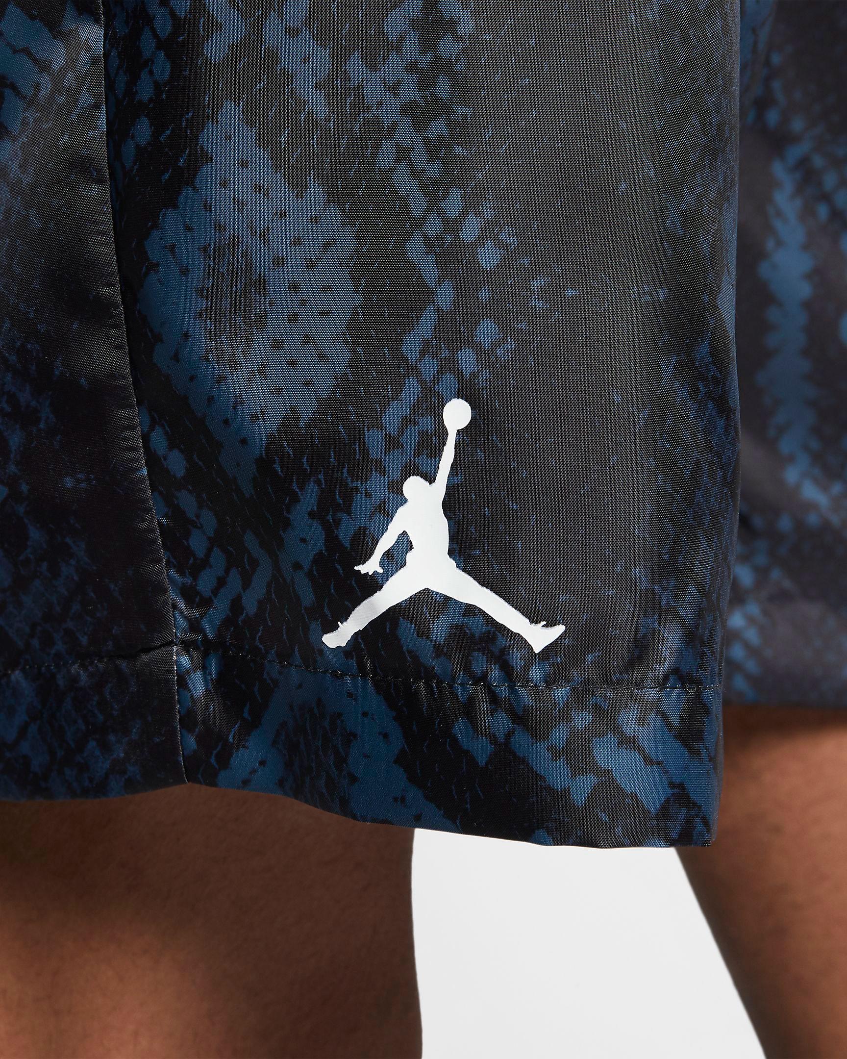 air-jordan-11-low-snakeskin-navy-blue-shorts-4