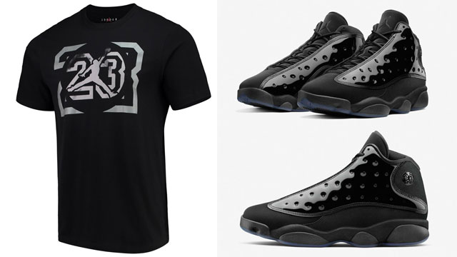 air-jordan-13-cap-and-gown-sneaker-shirt