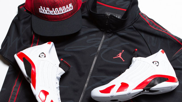 air-jordan-14-candy-cane-jacket-hat