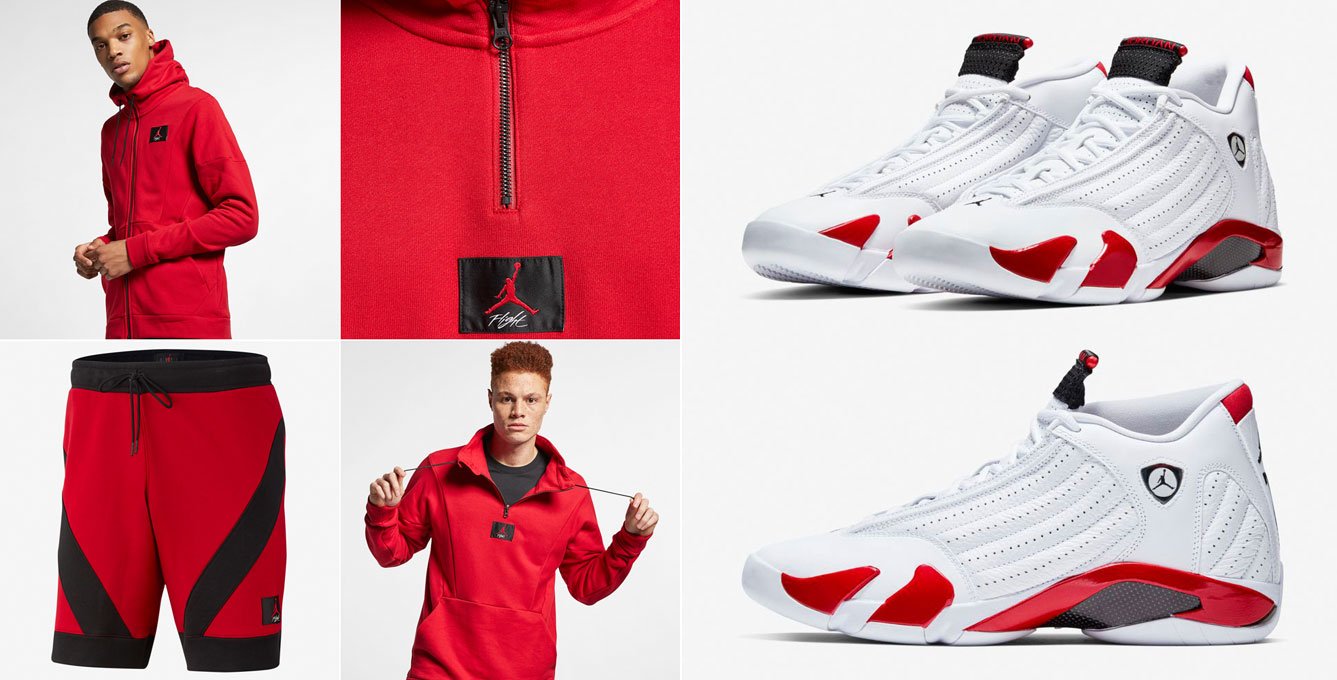 air-jordan-14-candy-cane-rip-hamilton-clothing-match