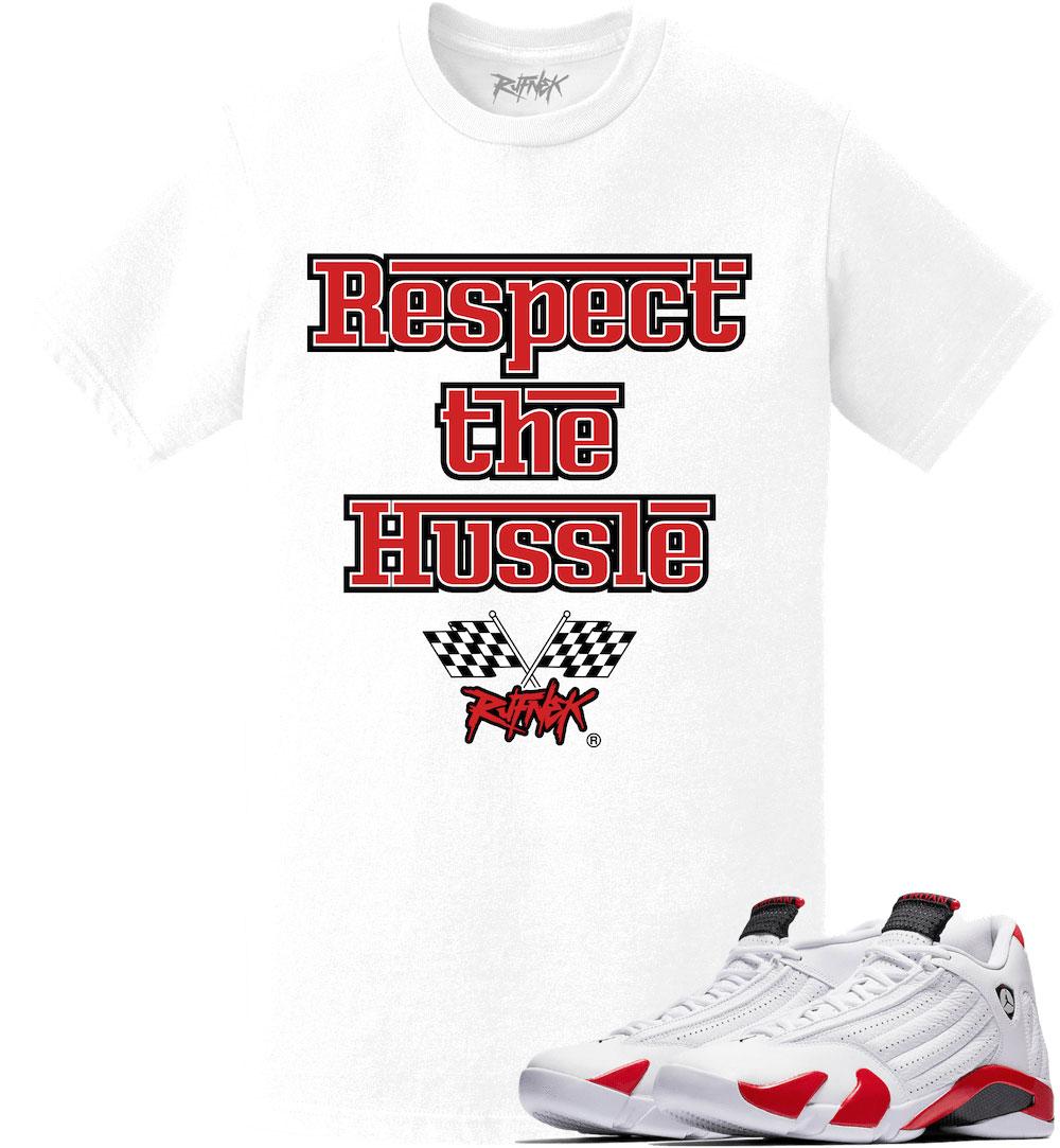 air-jordan-14-candy-cane-rip-hamilton-sneaker-tee-shirt-2