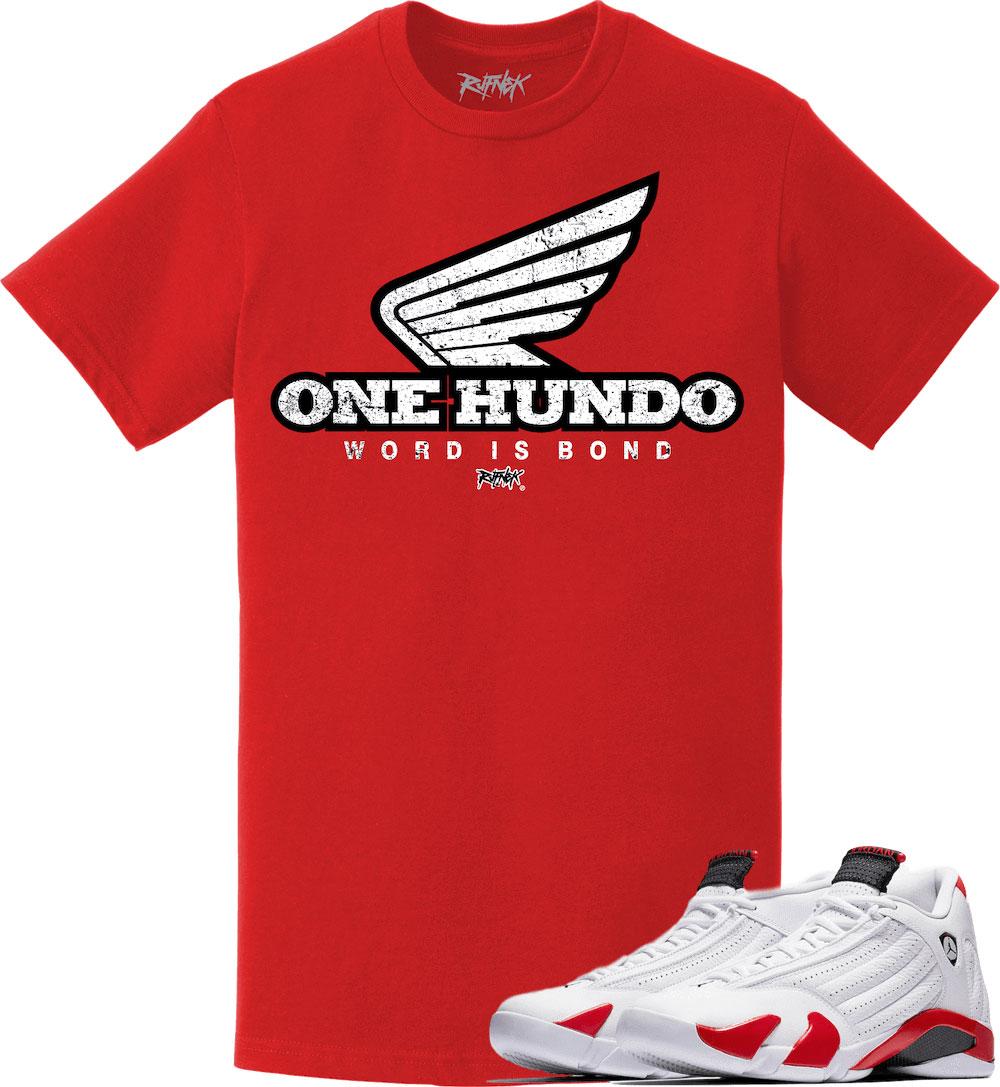 air-jordan-14-candy-cane-rip-hamilton-sneaker-tee-shirt-3