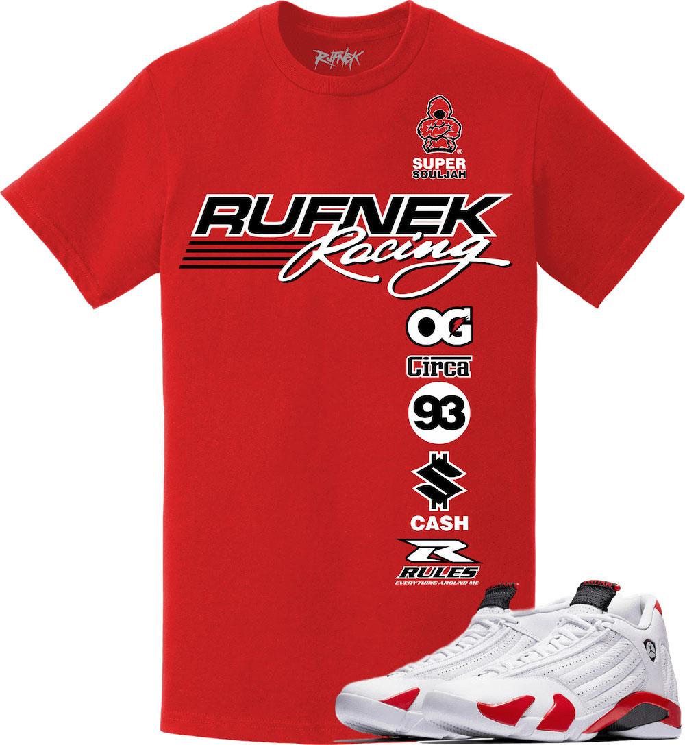air-jordan-14-candy-cane-rip-hamilton-sneaker-tee-shirt-4