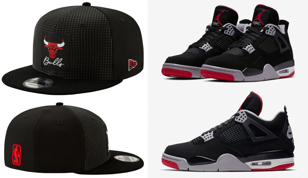 air-jordan-4-bred-2019-bulls-hat