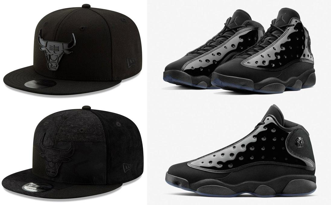 jordan-13-cap-and-gown-bulls-hats
