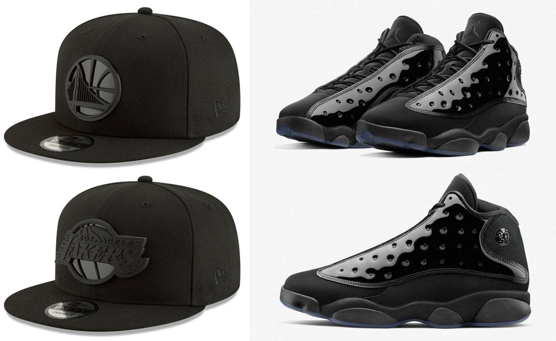 jordan-13-cap-and-gown-nba-snapback-hats