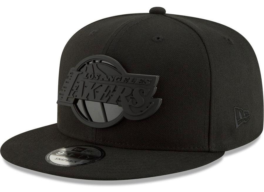 jordan-13-cap-and-gown-snapback-hat-lakers