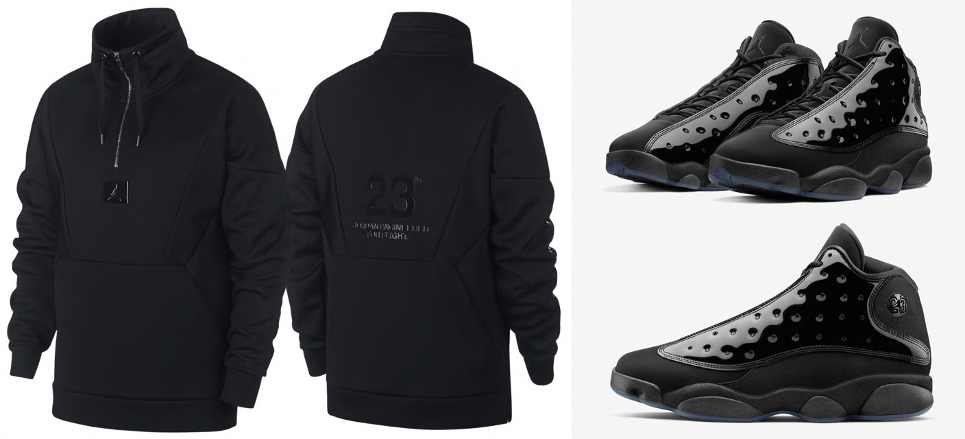 jordan-13-cap-and-gown-sweatshirt-match