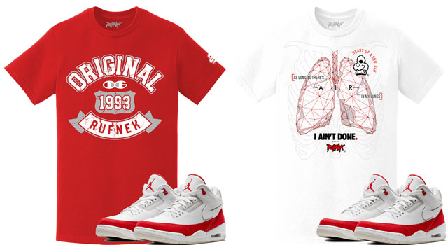 "420a3b509f5bea Original RUFNEK Sneaker Tees to Match the Air Jordan 3 Tinker ""Air Max 1"""