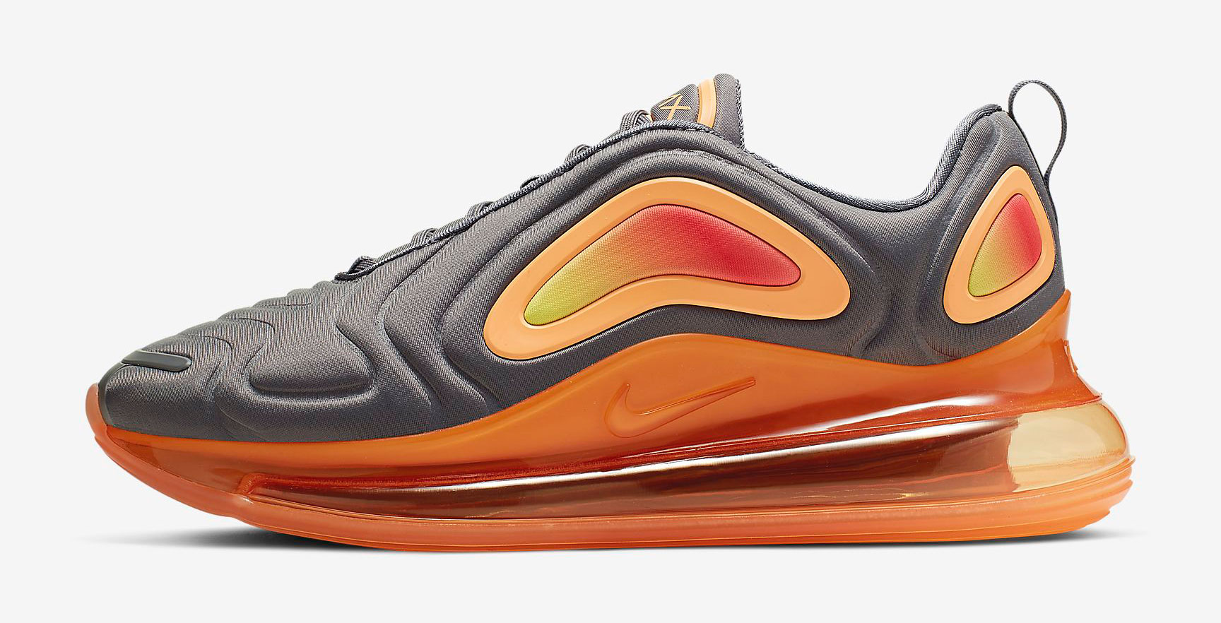 "sports shoes cca78 ffc48 Nike Air Max 720 ""Gunsmoke Fuel Orange"""