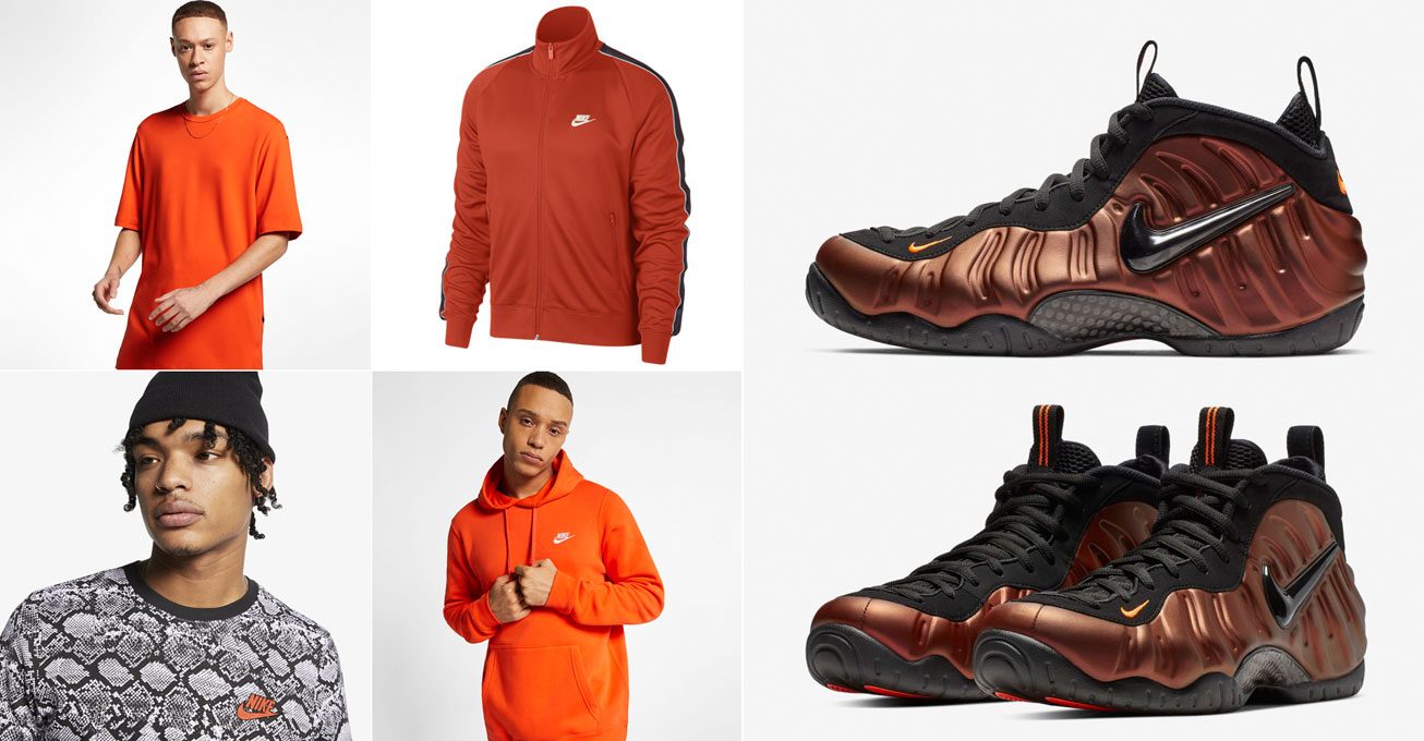 4ffad725e Nike Foamposite Hyper Crimson Clothing Match | SneakerFits.com