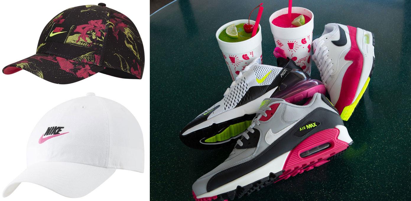 nike-pink-limeaid-hats