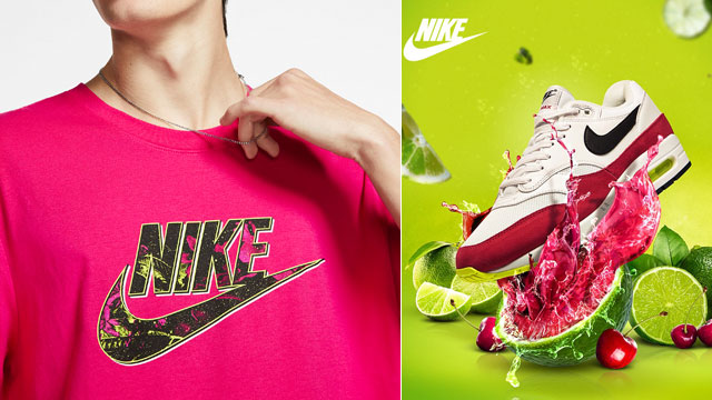 nike-pink-limeaid-shirts-sneakers