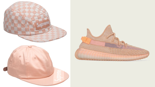 yeezy-350-clay-supreme-caps