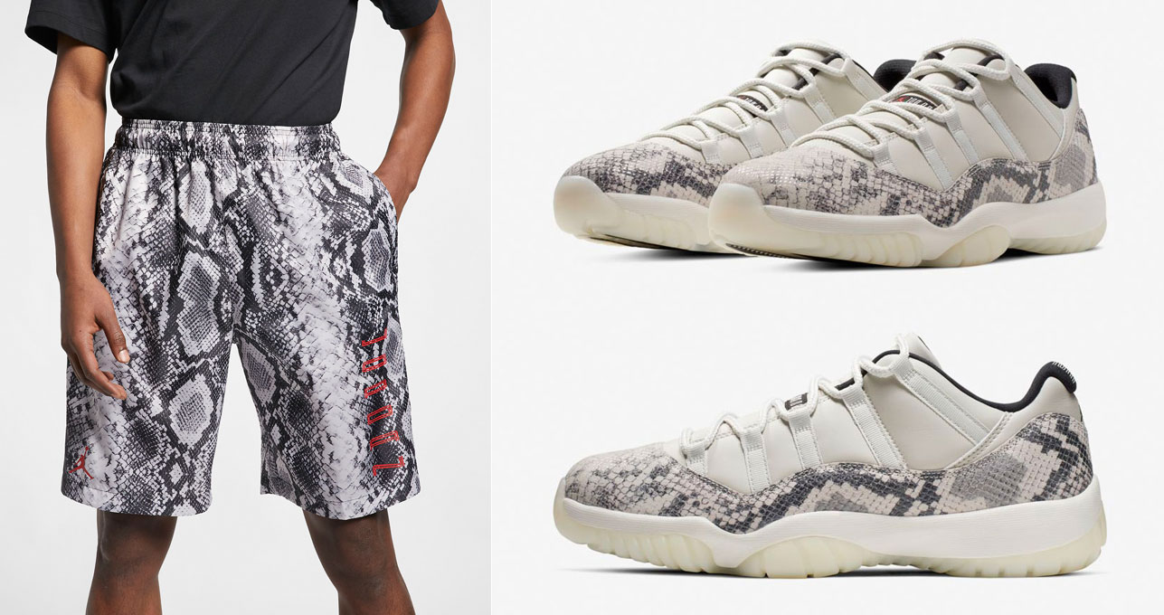 air-jordan-11-low-snakeskin-light-bone-shorts
