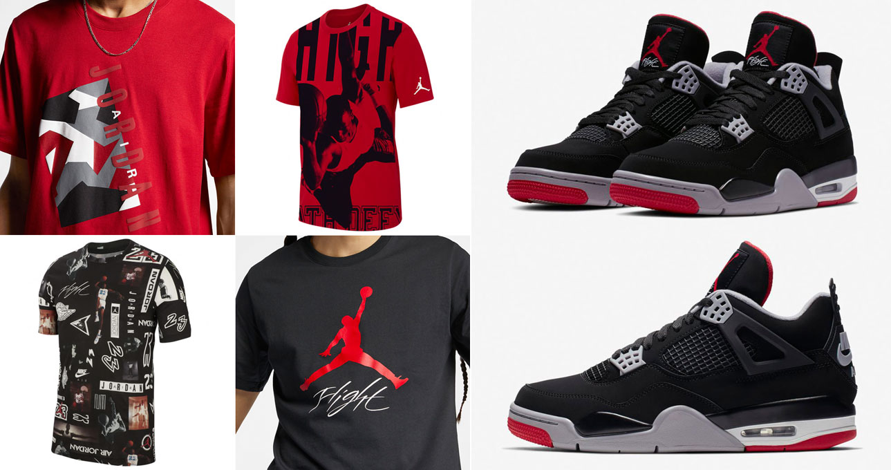 air-jordan-4-bred-2019-matching-shirts
