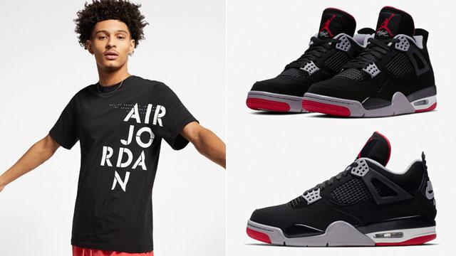 bred-air-jordan-4-nike-air-tee-shirt