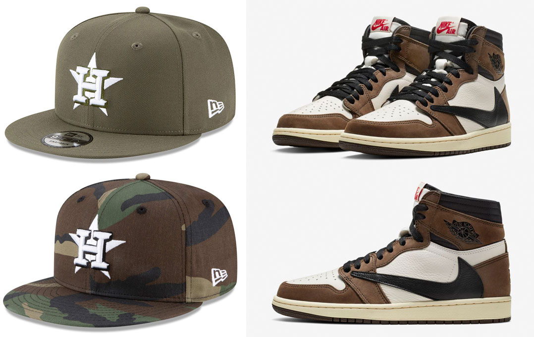 jordan-1-travis-scott-cactus-jack-astros-hats-to-match