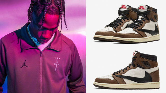 8651a80d248c Jordan x Travis Scott Clothing Collection to Match the Air Jordan 1 High x  Travis Scott
