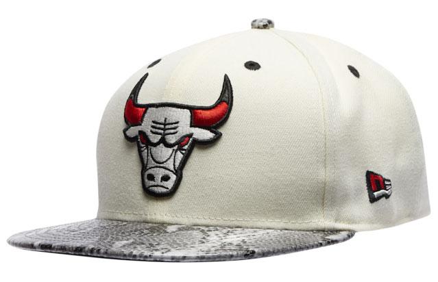 jordan-11-grey-snakeskin-light-bone-bulls-hat-1