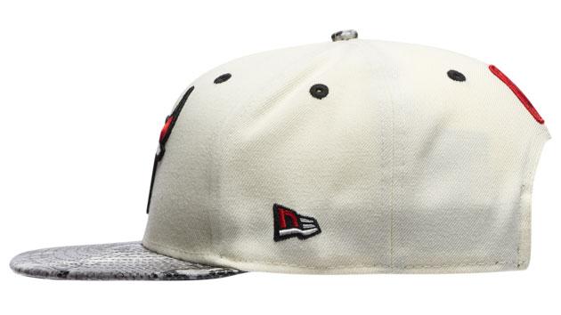 jordan-11-grey-snakeskin-light-bone-bulls-hat-2