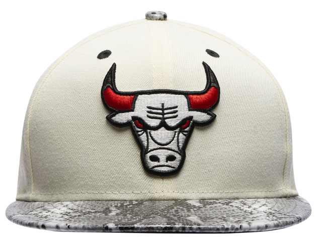 jordan-11-grey-snakeskin-light-bone-bulls-hat-3