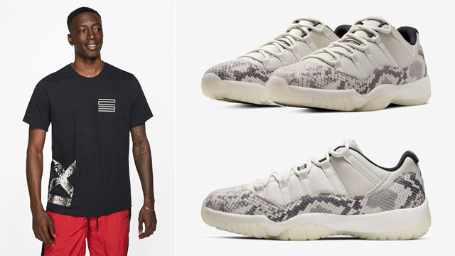 jordan-11-low-snakeskin-light-bone-shirt