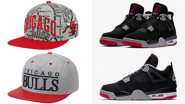 "2303ea8c4ac7 Top 10 Bulls Hats to Match the Air Jordan 4 ""Bred"""