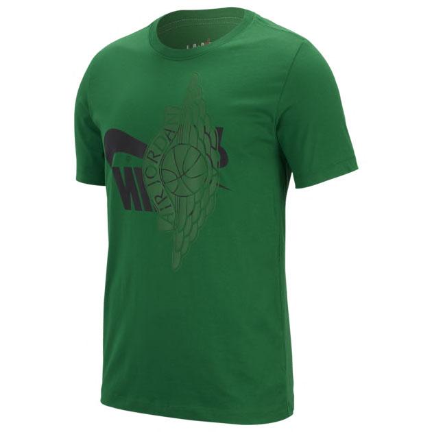 jordan-7-ray-allen-jordan-green-shirt-match