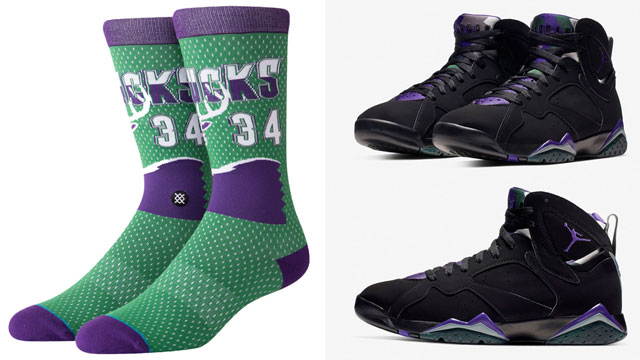 jordan-7-ray-allen-socks