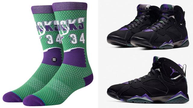 jordan-7-ray-allen-socks