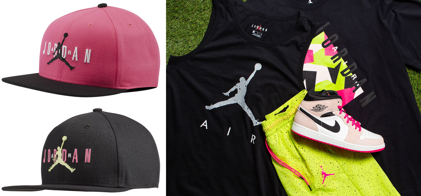 jordan-jumpman-poolside-snapback-hat-clothing-match