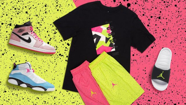 new style 88c0c 72d28 Step Into Summer in the Jordan Poolside Collection Including T-Shirts,  Tanks, Shorts and Shoes